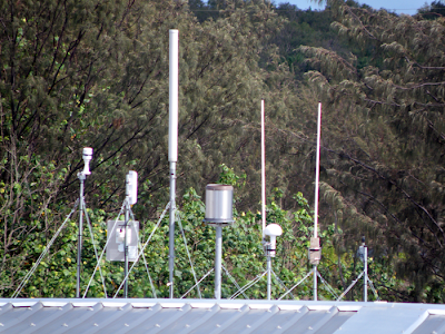 array of sensors roof mounted