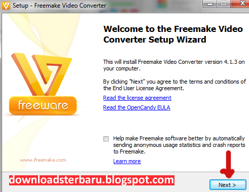 Cara instal Freemake Video Converter