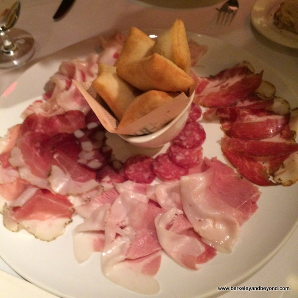 house-cured salami at B&B Ristorante in The Venentian in Las Vegas