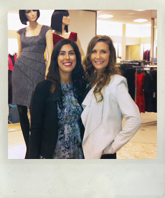 Fashion Confessions of Laurel Berman Black Halo designer with Fashion Junkie Jessica Moazami