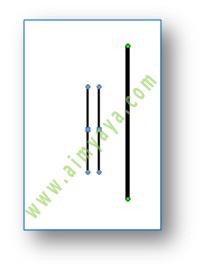 Gambar: contoh grouping garis dari cara membuat garis vertikal sejajar di microsoft word 2007
