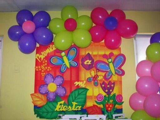 Decoración de fiestas infantiles motivo mariposa - Imagui