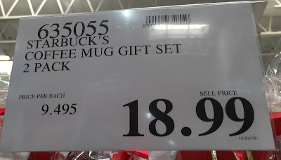 Deal for the Starbucks Coffee Mug Gift Set at Costco