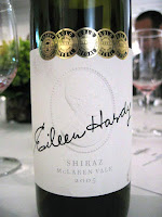 Label photo of Eileen Hardy Shiraz 2005 from McLaren Vale
