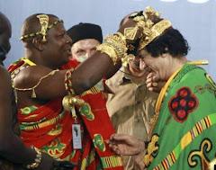 Gaddafi zu Afrikas König der Könige gekürt - 2008