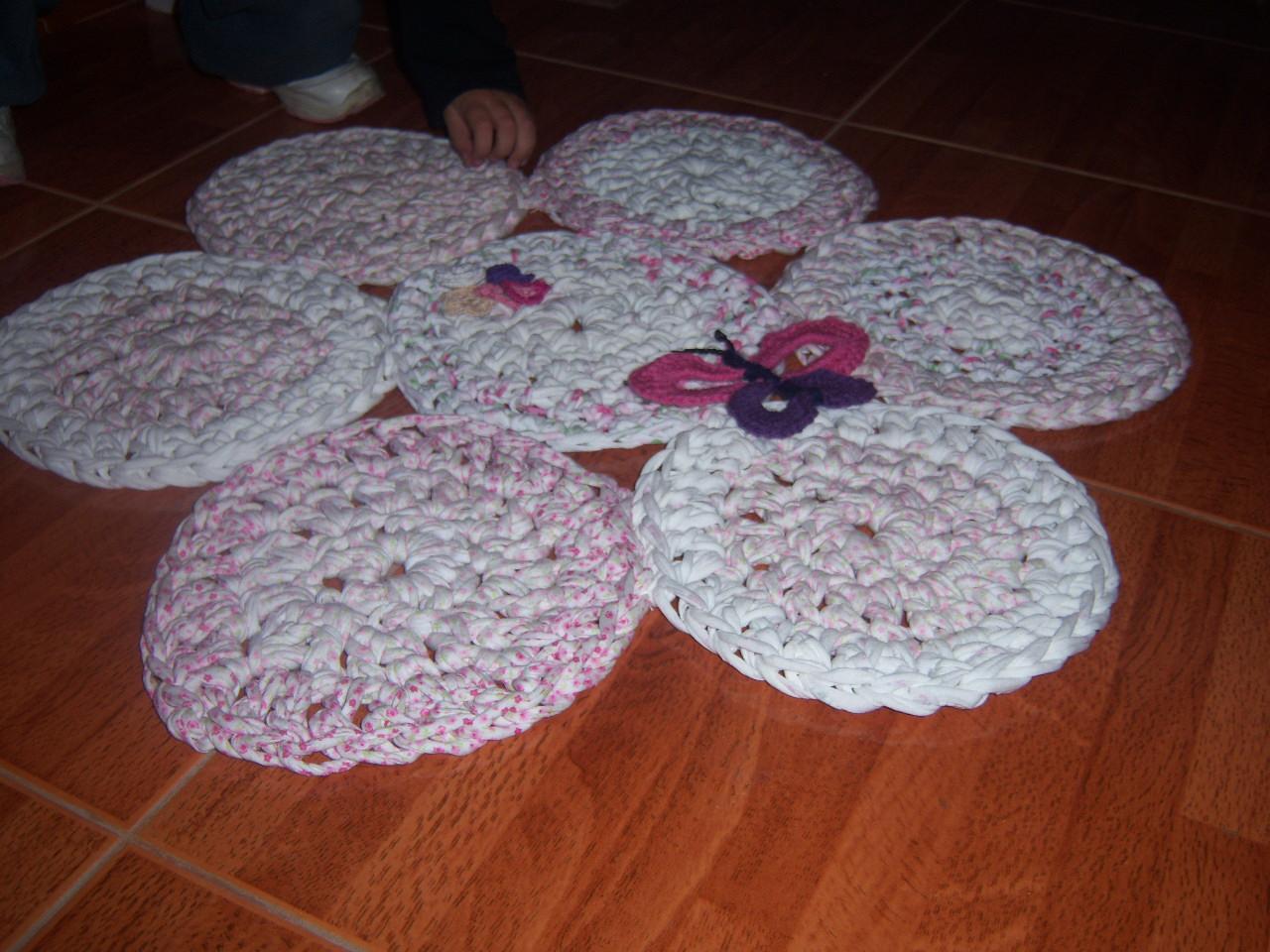 Rume Crochet Alfombras Con Totora