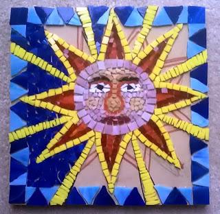 Sun mosiac - Desikalakar