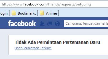Cara Batalkan Permintaan Pertemanan Facebook