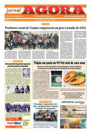 JORNAL AGORA EDIÇÃO 141 JUNHO DE 2019