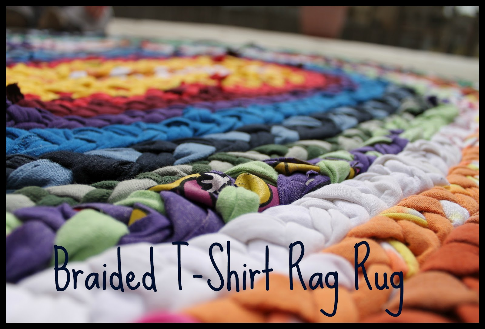 Friday Project Braided T Shirt Rag Rug