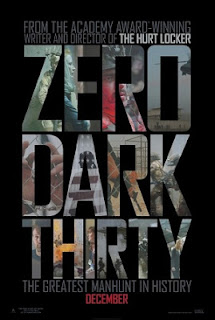 ZERO DARK THIRTY 2012 MOVIE POSTER