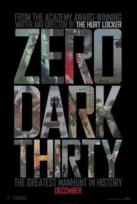 ZERO DARK THIRTY 2012 MOVIE POSTER