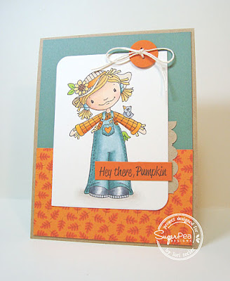 Hey There, Pumpkin card-designed by Lori Tecler/Inking Aloud-stamps and dies from SugarPea Designs