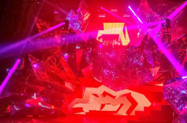 Krewella's Crystal Volcano
