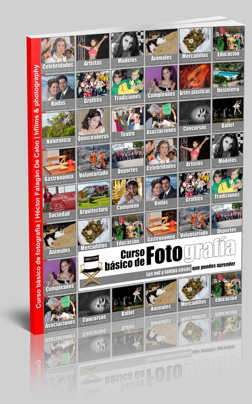 Curso básico de Fotografía - portada publicación digital - Héctor Falagán De Cabo.