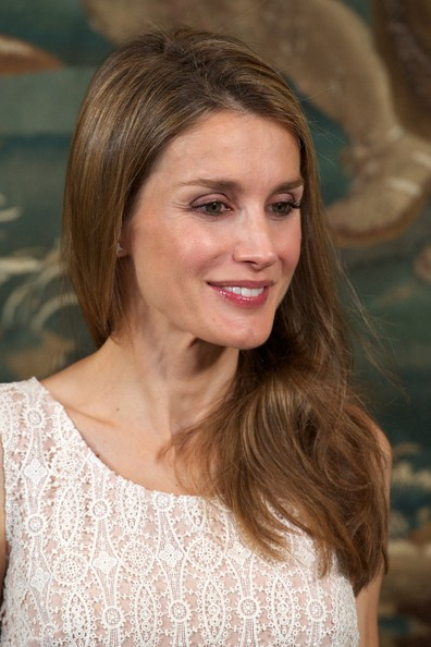 Princess Letizia attended an official dinner with the Balearic authorities at the Almudaina Palace