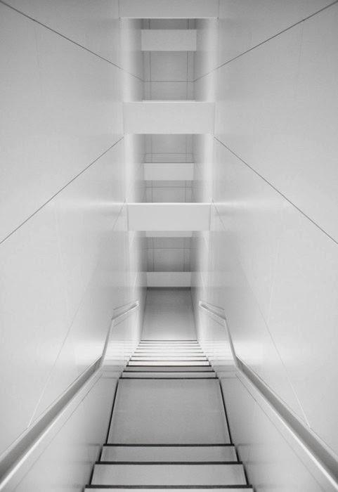 recessed handrails