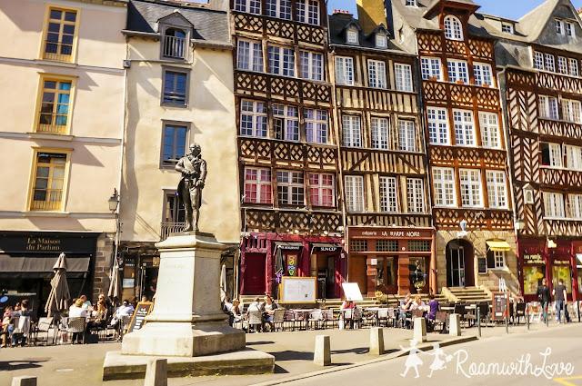 Honeymoon, france, ฮันนีมูน, รีวิว, ฝรั่งเศส, Rennes, สวีท, บ้าน, ขนม, ช็อคโกแลต, รถไฟ, TGV,Ti Koz, Champ Jacquet