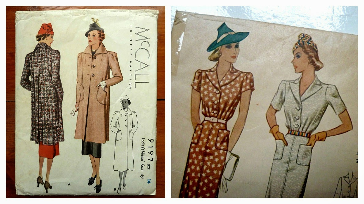 1930s inspiration for vintagepledge a stitching odyssey its fabulous to see the importance of accessories even reflected through 1930s sewing pattern artwork jeuxipadfo Choice Image