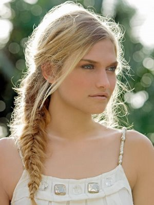 fishtail braid styles. cute fishtail braid hairstyles