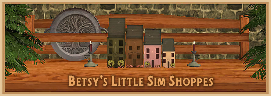 Betsy's Little Sim Shoppes