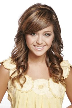 Long sedu hairstyle for women