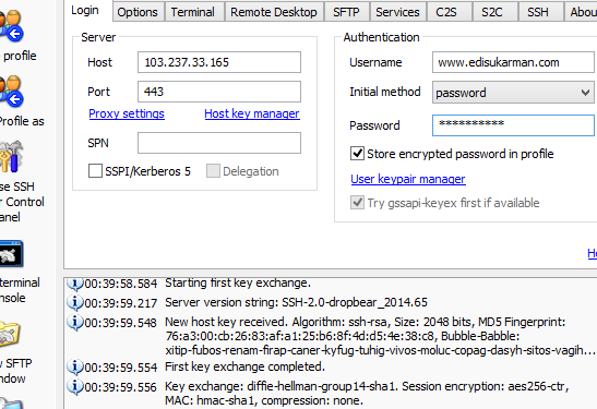 Free SSH Server Indonesia 20 September 2014