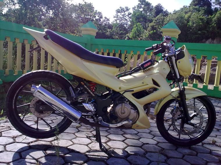 Modifikasi Sepeda Suzuki Motor Satria FU 150 title=