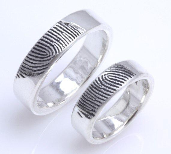 Fingerprint Wedding Rings Brisbane