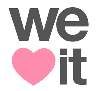 Estoy en We Heart It ;D