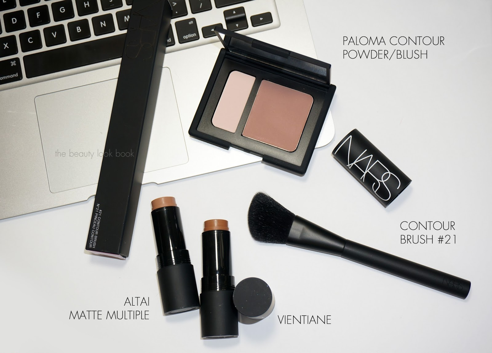 NARS Paloma Contour Blush, Altai and Vientiane Matte Multiples and ...