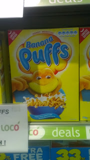 honey monster banana puffs