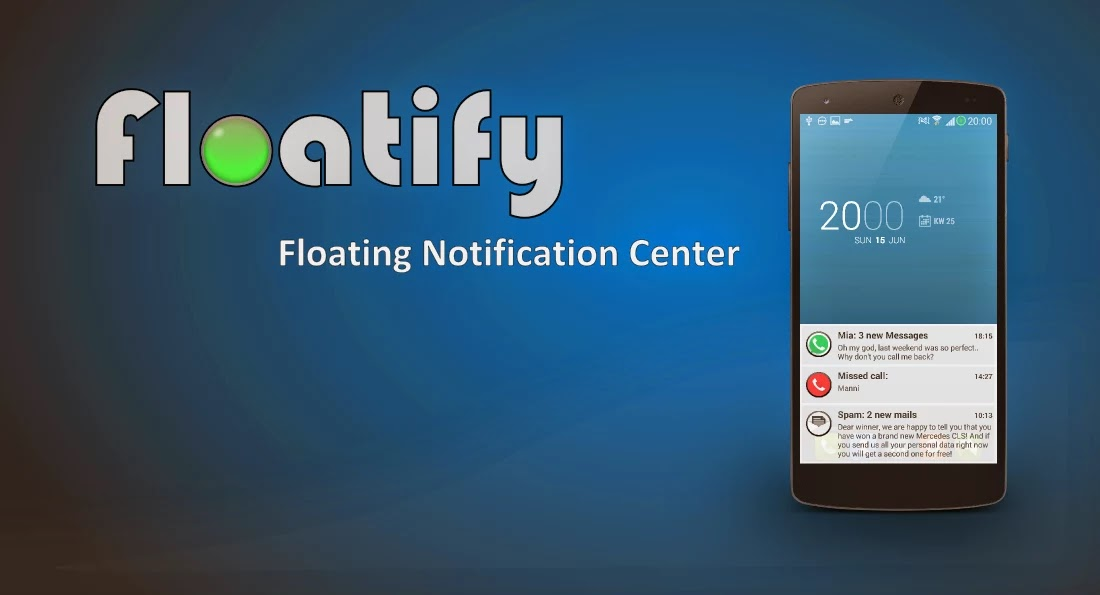 Floatify Pro - Smart Notifications v1.33 Patched