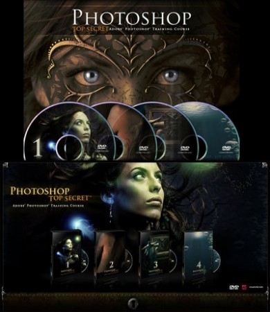 Photoshop Top Secret (5 DVDs) Complete Collection