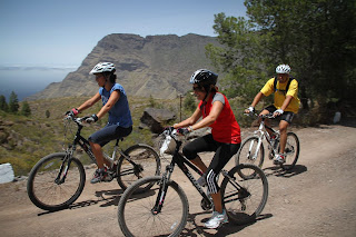 Mountain biking is a great option for a conference activity in Gran Canaria
