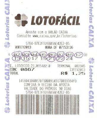 aposta da lotofacil 0867 Resultados de loterias: concurso 0867 da lotofácil
