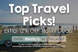 EXTRA 12%OFF Travel Deals