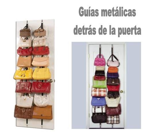 Ideas para organizar los bolsos - Como guardar los bolsos ...