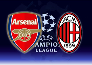 Arsenal VS AC Milan live streaming 2012