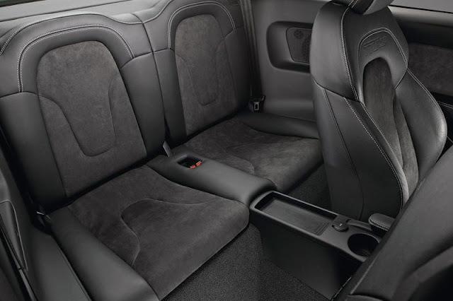 2013 Audi TT RS Coupe Back sit Interior