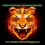 SPIRIT KHODAM HARIMAU BELANG