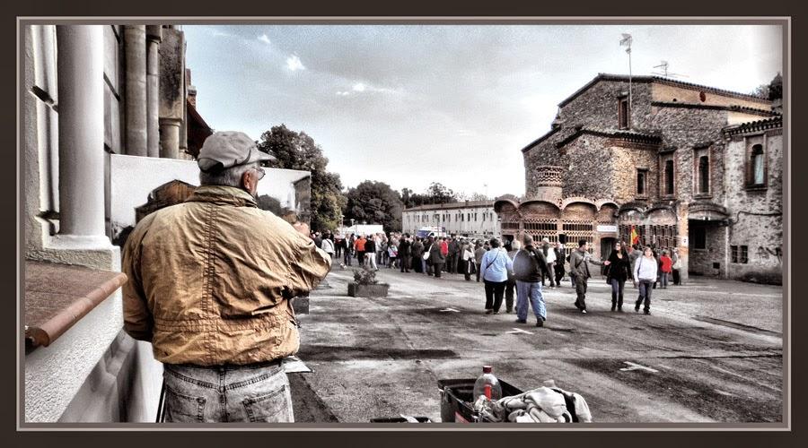 COLONIA GUELL-PINTURA-SANT BOI DE LLOBREGAT-BARCELONA-CATALUNYA-GAUDI-FOTOS-PINTOR-ERNEST DESCALS-
