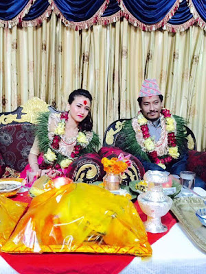 Nepali Actress Swastima Khadka Engagement with Nichal Basnet