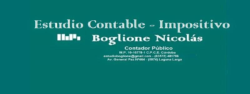 Estudio Impositivo Cr. Boglione Nicolás