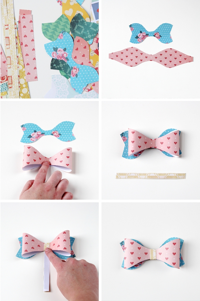 How to make your own diy paper bows