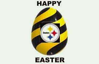 Pittsburgh Steelers Easter egg