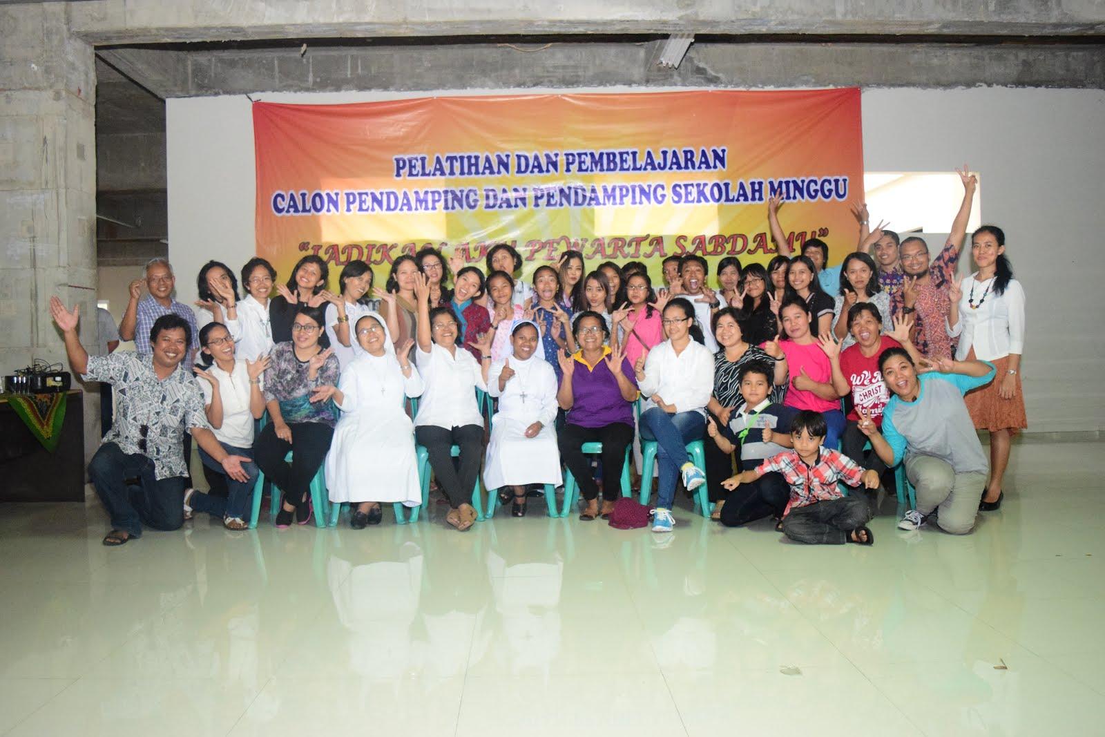 Bersama Para Pendamping PIA Paroki Salatiga (12 Februari 2017)