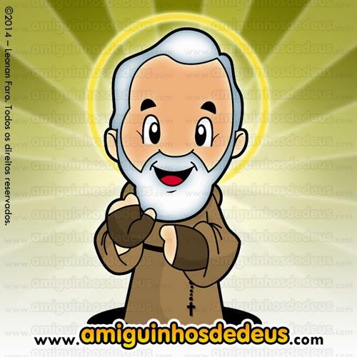 São Pio de Pietrelcina desenho