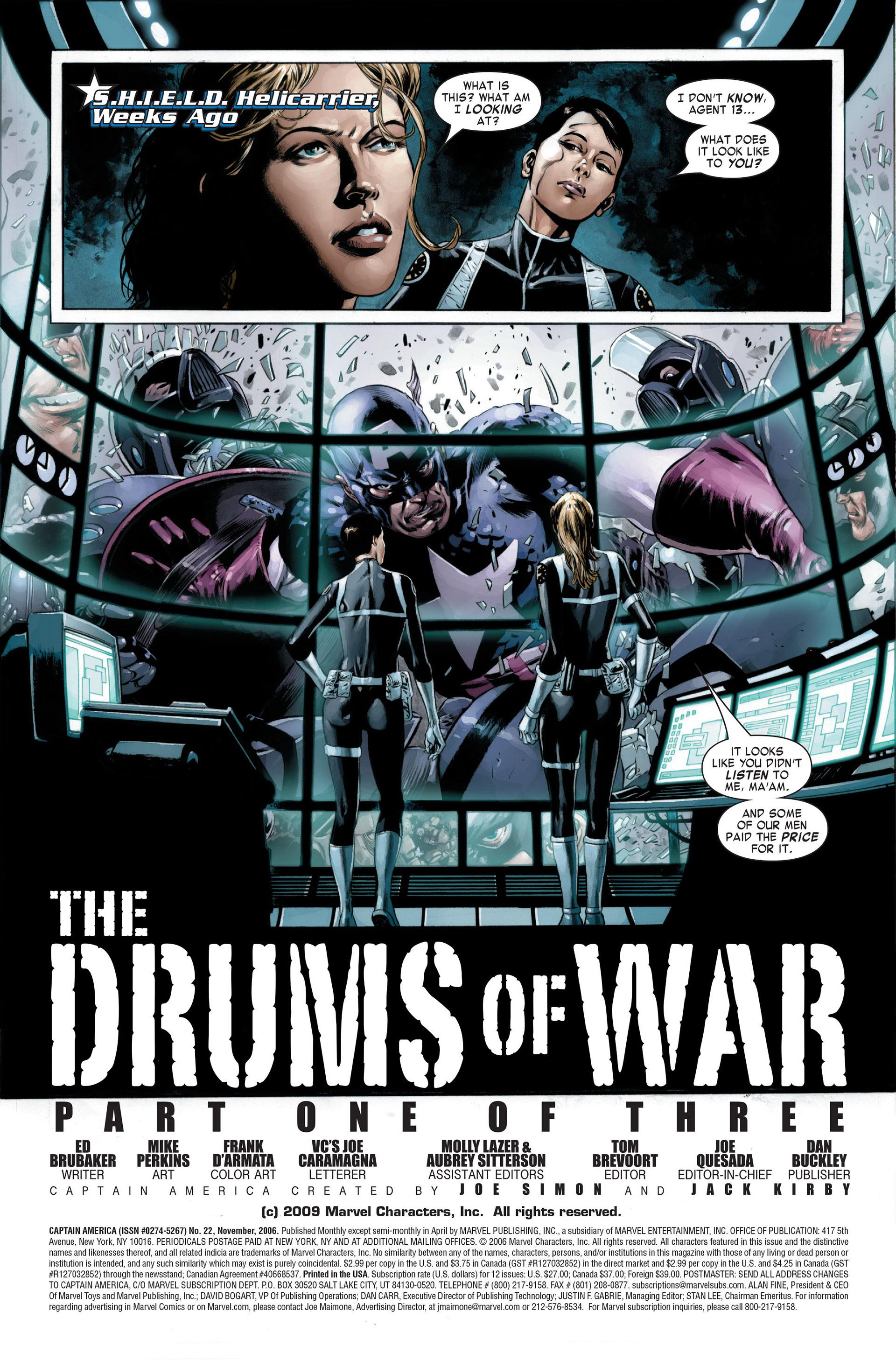 Captain America (2005) Issue #22 #22 - English 3