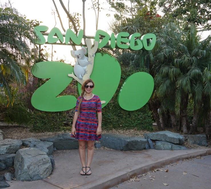 el estilo importa: Diario de viaje dia 1, San Diego Zooo